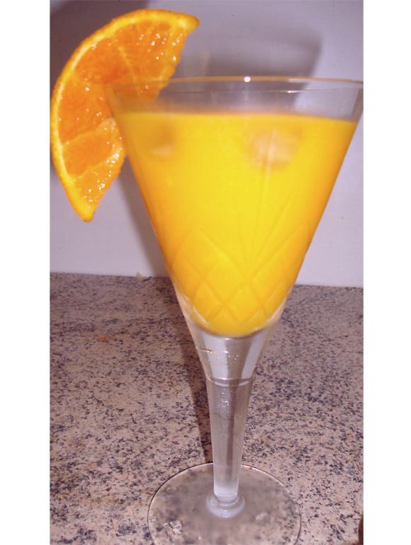 Receita: Mango Bellini by @sevencatlives • Elfinha.com
