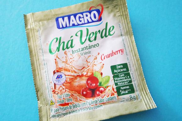 Chá Verde de Cranberry