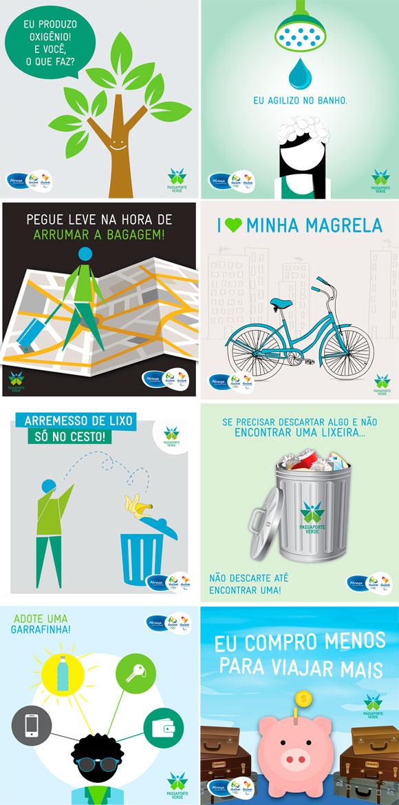 Rio 2016 ~ Passaporte Verde