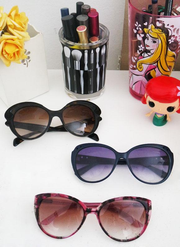 858902cf5 O tema dessa semana é óculos de sol! Eu adoro, tenho vários e costumo  dividi-los/trocá-los com minha mãe, pena que nem sempre o modelo que fica  bom nela ...