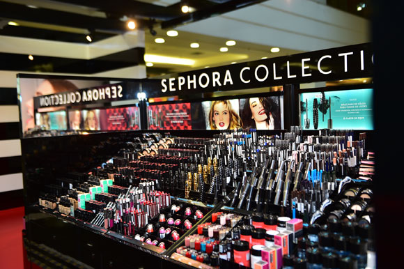 pop up store Sephora Collection