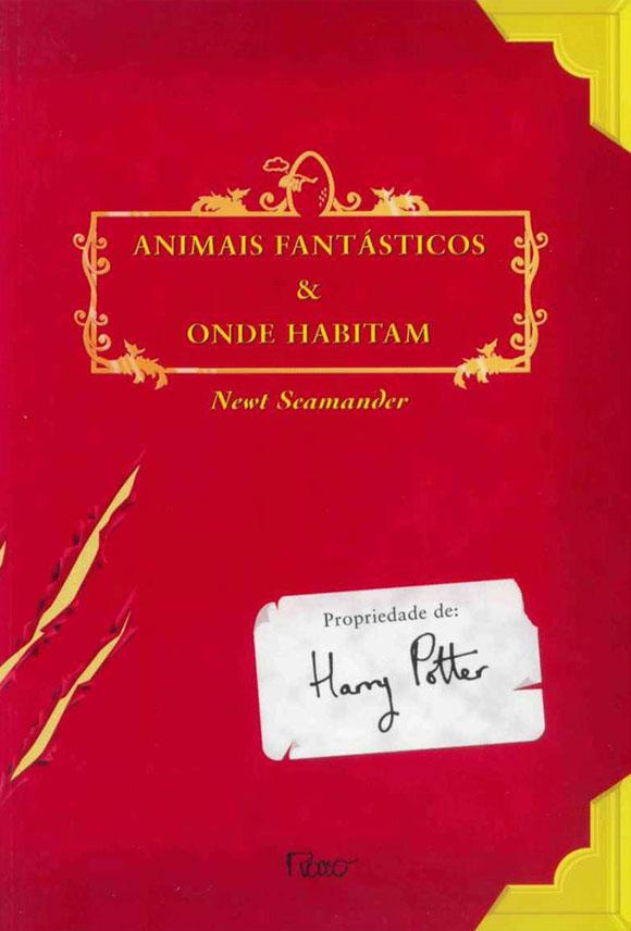 livros que vão virar filme: Animais Fantásticos e Onde Habitam