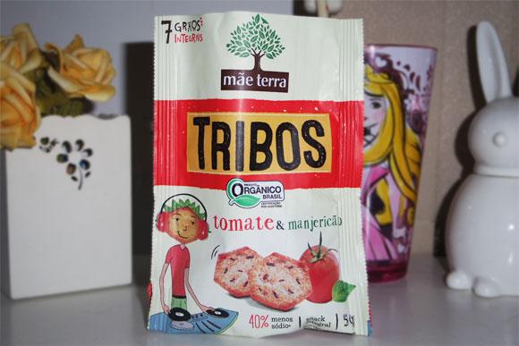 resenha biscoito mãe terra: Tribos Tomate e Manjericão