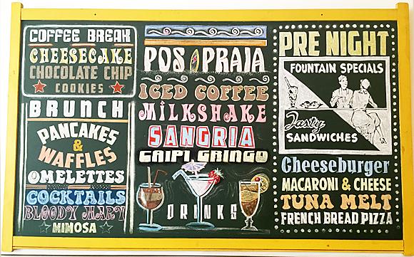 Cardápio do Gringo Café em Ipanema