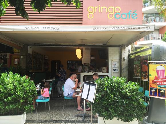 Fachada do Gringo Café