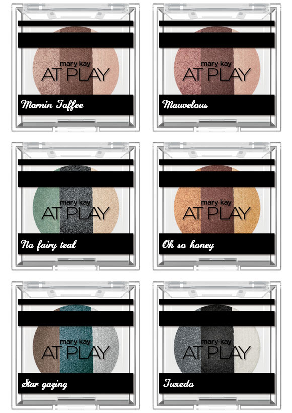 Mary Kay at play trio de sombras