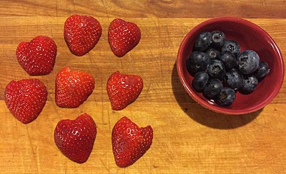 joaninha de frutas