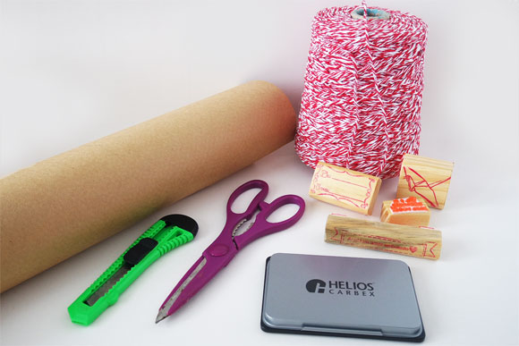 presente-papel-kraft-materiais